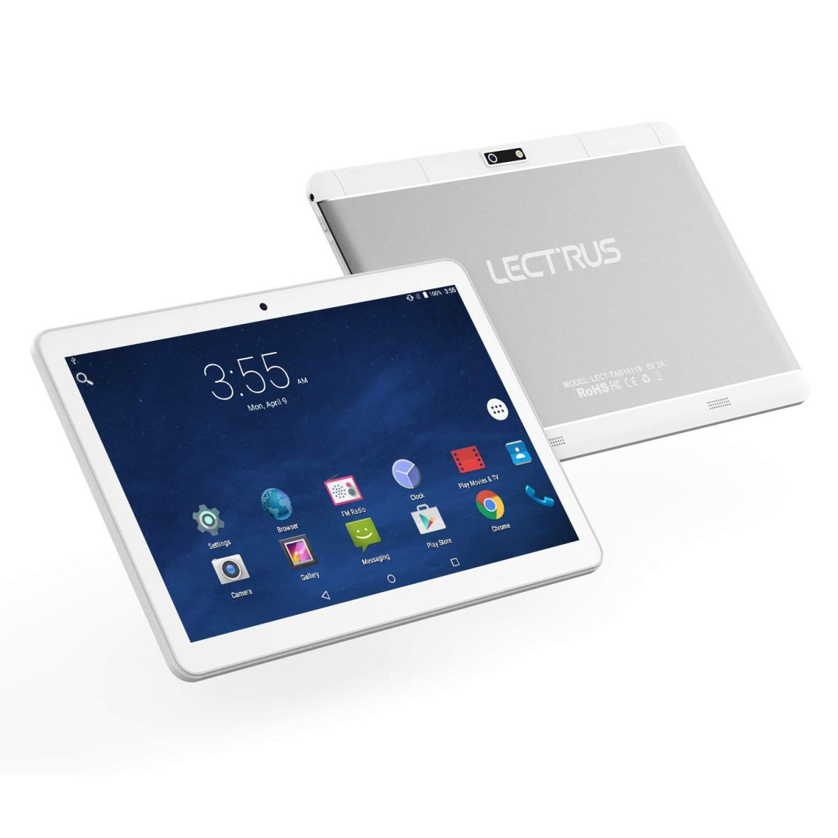 Lectrus Android Phone Tablet 10-inch 3G Phablet